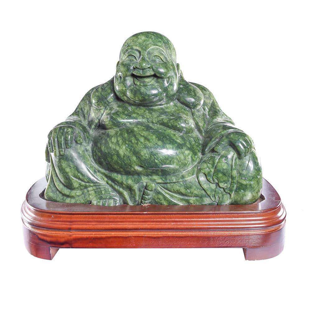 Bouddha Pierre Jade