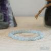 bracelet aigue marine 6mm