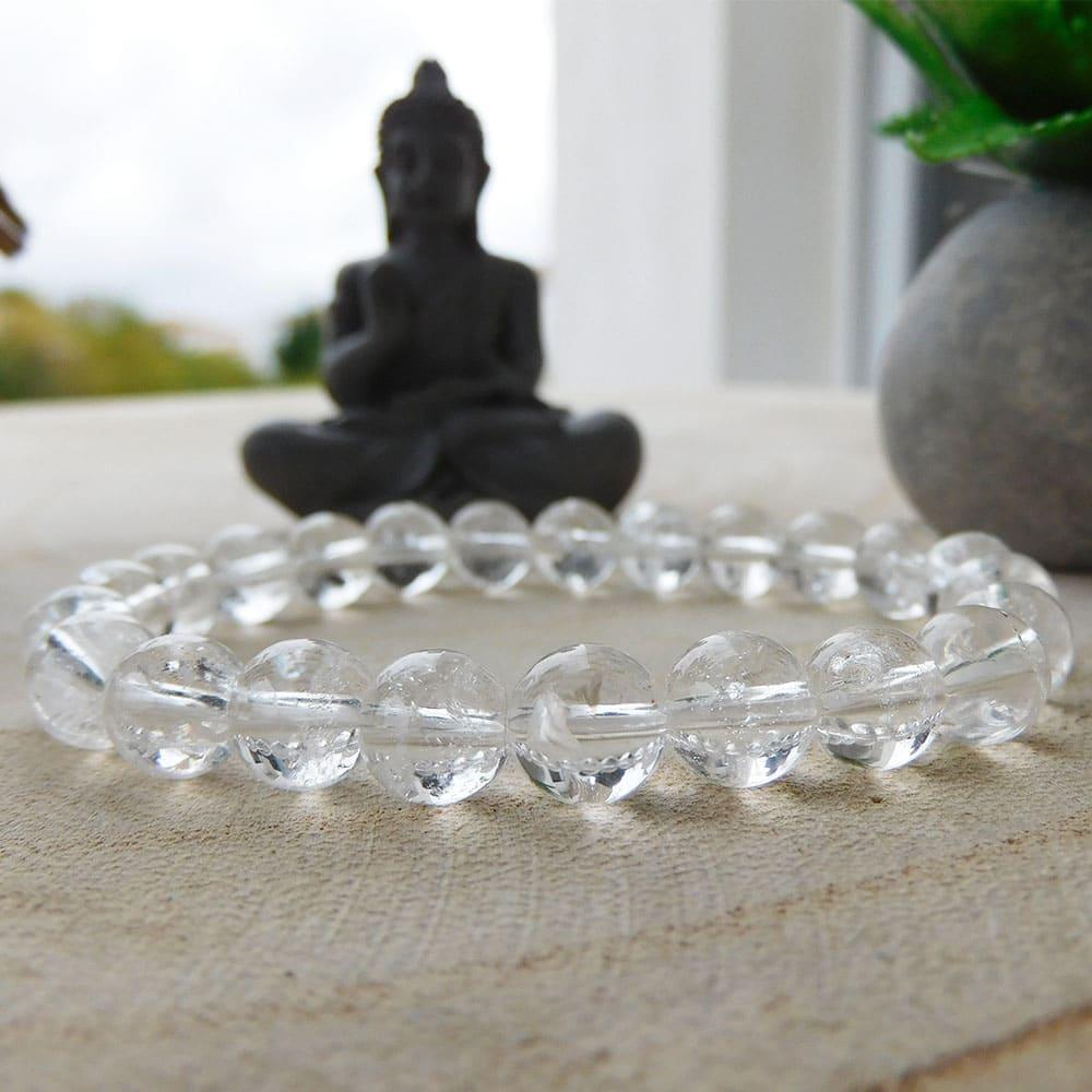 Bracelet Cristal de roche 8mm