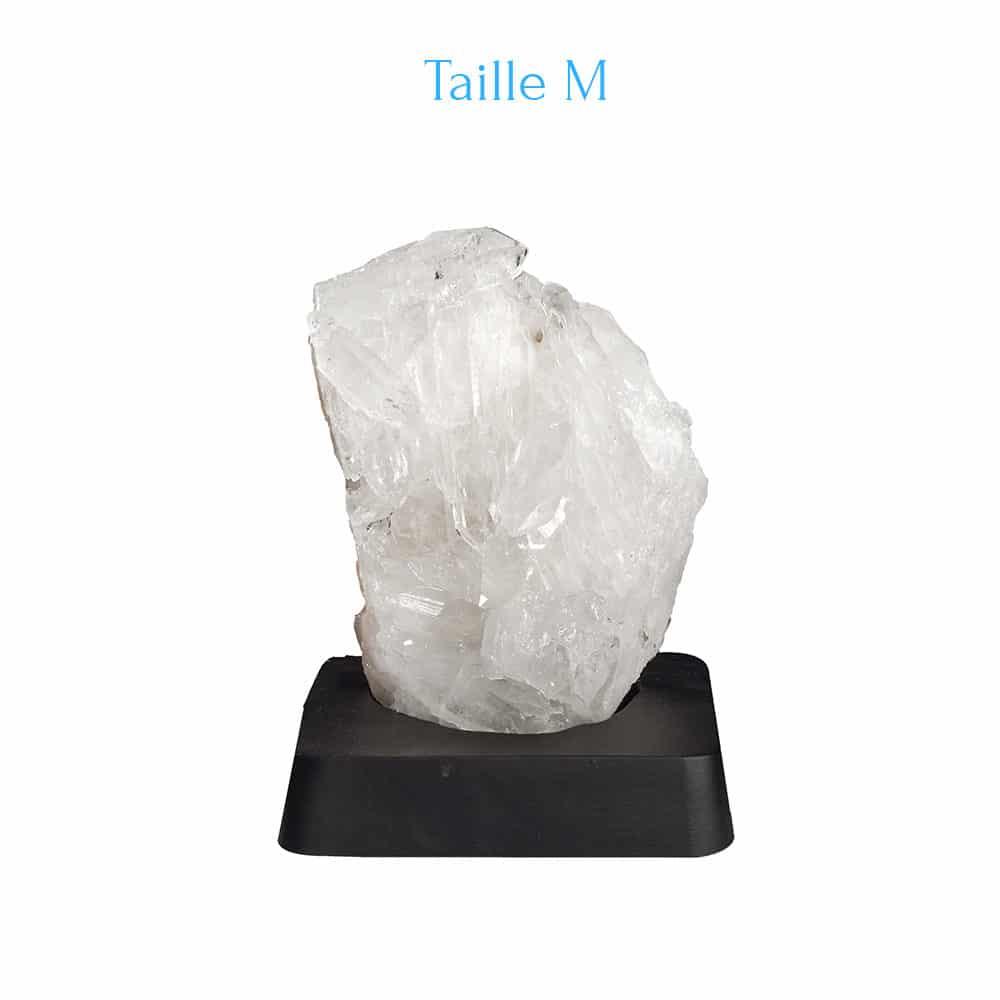 Cristal de Roche sur support M