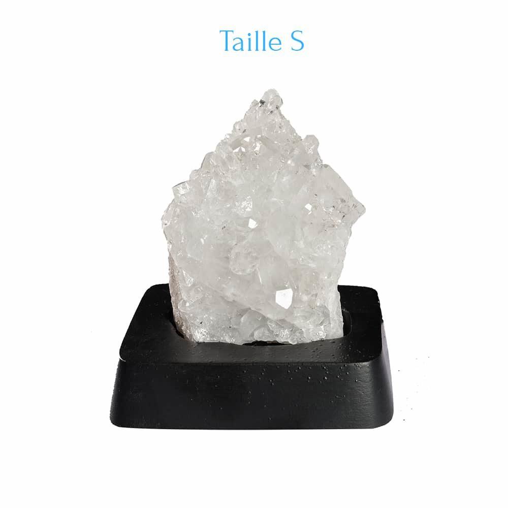 Cristal de Roche sur support S