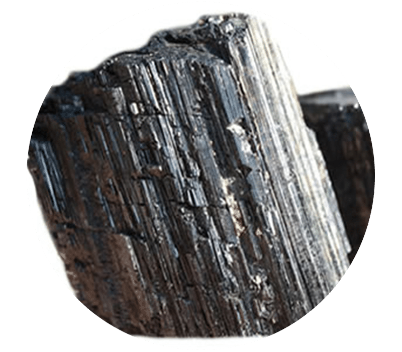 Vertus Tourmaline noire