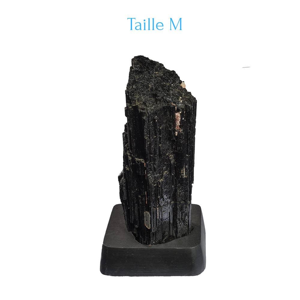 Tourmaline noire sur support M
