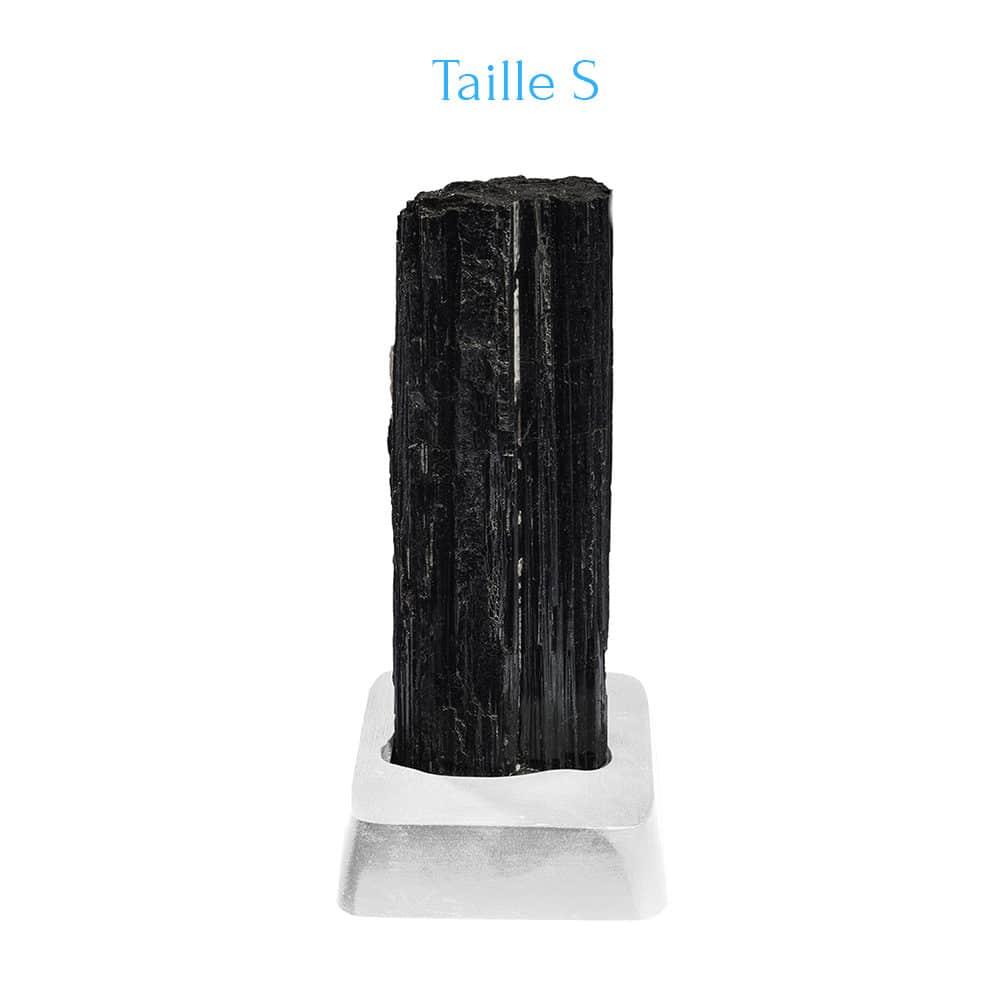 Tourmaline noire sur support S