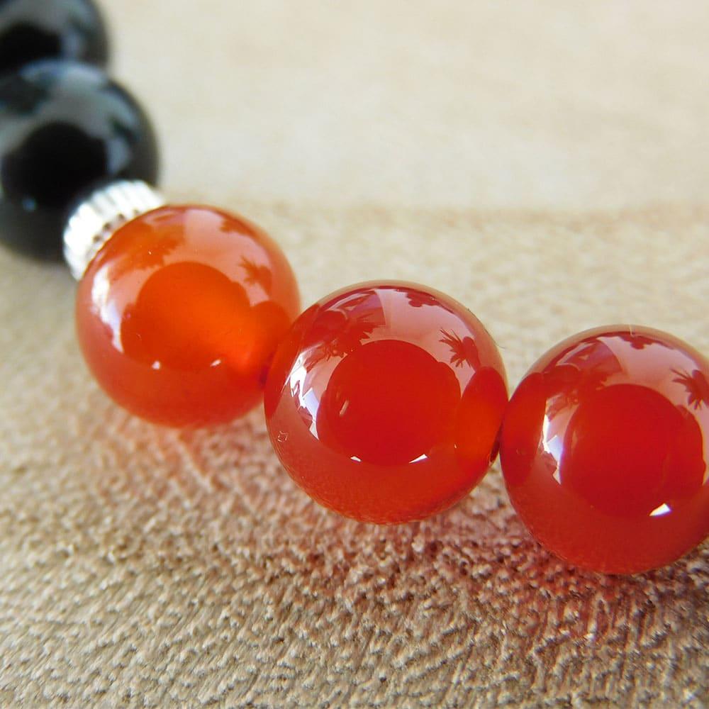 Bracelet 7 Chakras cornaline