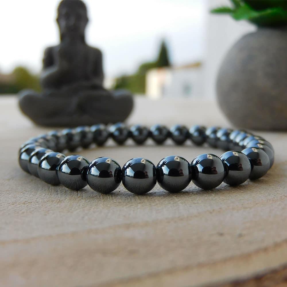Bracelet Hematite 6mm