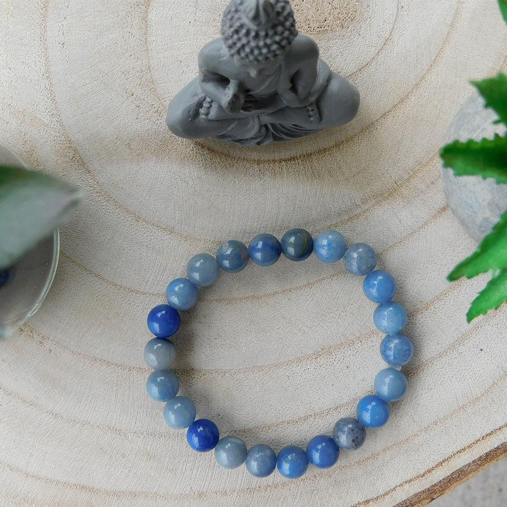 Bracelet Aventurine Bleue 8mm