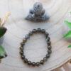 Bracelet Labradorite Foncee 8mm