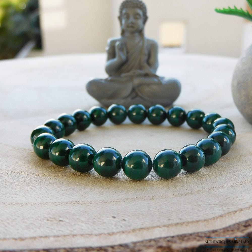 Bracelet Malachite 8mm