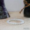 Bracelet pierre de lune 8mm - Zoom