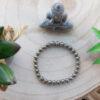 Bracelet Pyrite 6mm