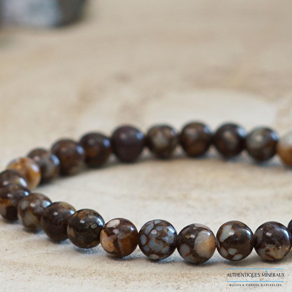 Bracelet opale africain 6mm