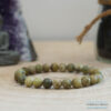 bracelet peridot 8mm -