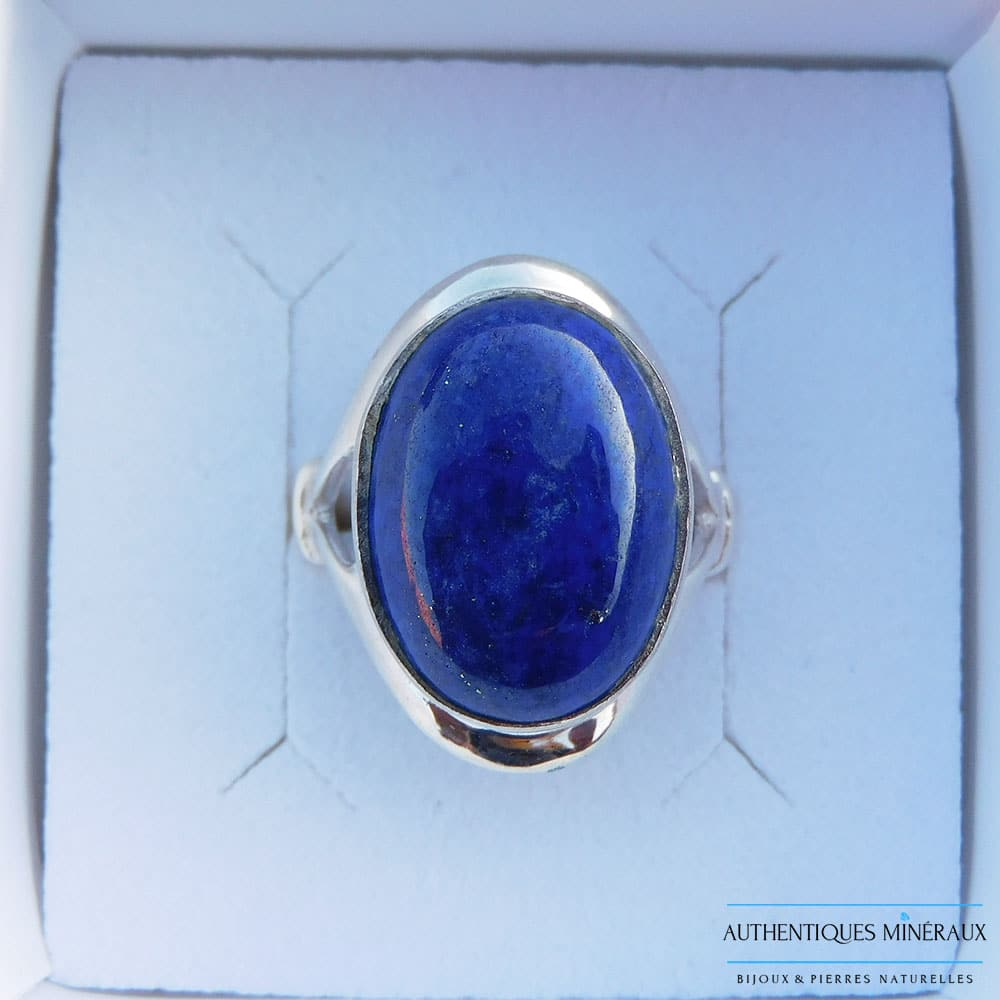 Bague Lapis lazuli argent 925 Jenna