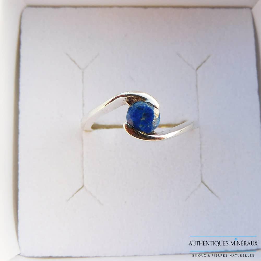 Bague Lapis lazuli argent 925 Léa