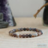 Bracelet 6mm agate du botswana